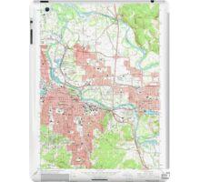 USGS Topo Map Oregon Eugene East 279824 1967 24000 iPad Case/Skin