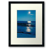 """""""Midnight Blue"""" Framed Print"""