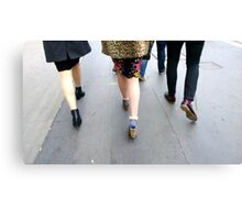 Fashion On The Move Canvas Print