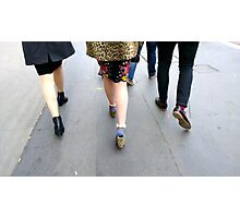 Fashion On The Move Photographic Print