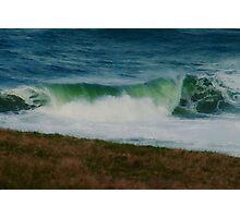 "'Emerald Waves"" Photographic Print"