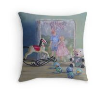Yesterdays Children Throw Pillow