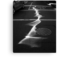 Road Beam Canvas Print