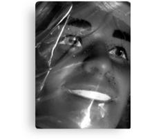 03-08-11:  Plastic In Plastic Canvas Print