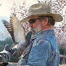 Pigeon Feeder by saseoche