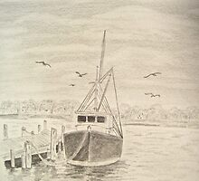 Boat dock (Original reference from Diane Wright) by leadhead