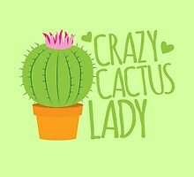 Crazy Cactus Lady by jazzydevil