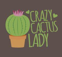 Crazy Cactus Lady Baby Tee