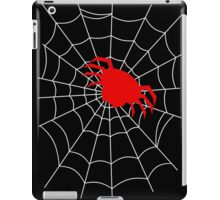 Simple Spider in a Web iPad Case/Skin