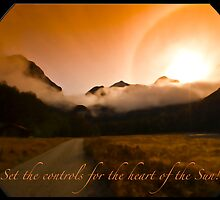 Set the Controls for the Heart of the Sun! by Odille Esmonde-Morgan