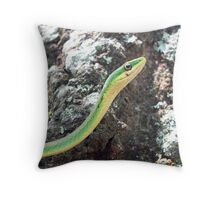 Vine Snake Throw Pillow
