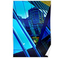 SOUTH WHARF REFLECTIONS Poster