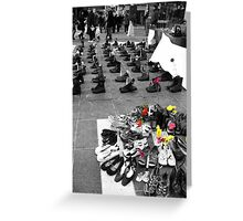 Fallen Soldiers Greeting Card