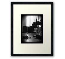 violence Framed Print