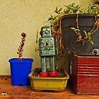 STILL LIFE WITH ROBOT by JOE CALLERI