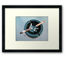CAO cigar break Framed Print