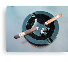 CAO cigar break Canvas Print