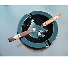CAO cigar break Photographic Print