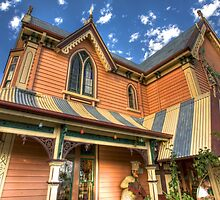 Gingerbread House Devonport by Philip Greenwood