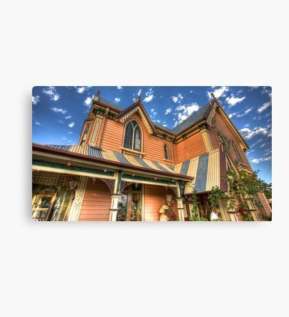 Gingerbread House Devonport Canvas Print