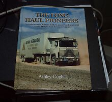 The Long Haul Pioneers by Ashley Coghill - Cover by Joe Hupp