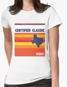 Certified Classic Texas Womens Fitted T-Shirt