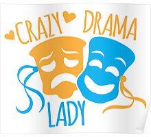 Crazy DRAMA Lady Poster
