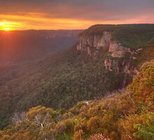 The Awakening  - Grose Valley, Blue Mountains World Heritage Area  - The HDR Experience by Philip Johnson