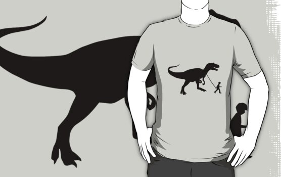 T-rex pet dinosaurs by personalized