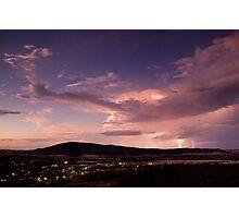 1.21 jigga watts - york storm Photographic Print