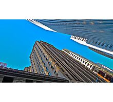 Looking Up, San Francisco Architecture Photographic Print