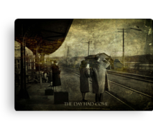 The Day Had Come Canvas Print