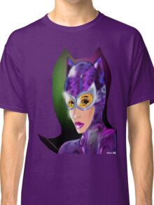 Purple Kitty Classic T-Shirt