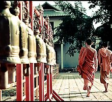 'Bells: Young Monks.' Chiang Mai, Thailand by RyanEdwardson