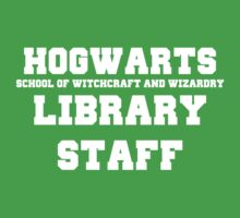 Hogwarts Witchcraft and Wizardry Library Staff Kids Clothes