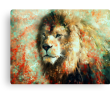 The King of His World Canvas Print
