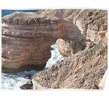 Kalbarri Cliffs Poster