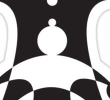 UNDERDOG big logo, light Sticker