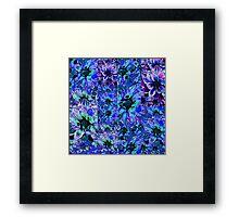 Catalea's Blue Garden Framed Print