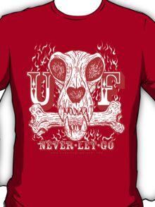 UNDERDOG skull & bone, red T-Shirt