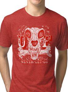 UNDERDOG skull & bone, red Tri-blend T-Shirt