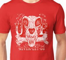 UNDERDOG skull & bone, red Unisex T-Shirt