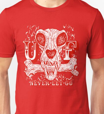 UNDERDOG skull & bone, red Unisex T-Shirt