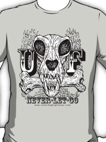 UNDERDOG skull & bone UF, light tee T-Shirt