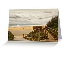 saltwater lookout Greeting Card