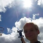 kite in the sun by Christina Herbert