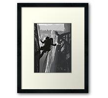 Mission Complete Framed Print