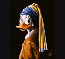 Duck with a Pearl Earring Unisex T-Shirt