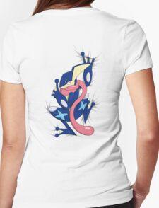 Shhhhhh Greninja Womens Fitted T-Shirt