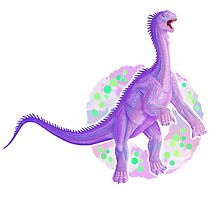 Intersex Isanosaurus (without text)  by R.A.  Faller
